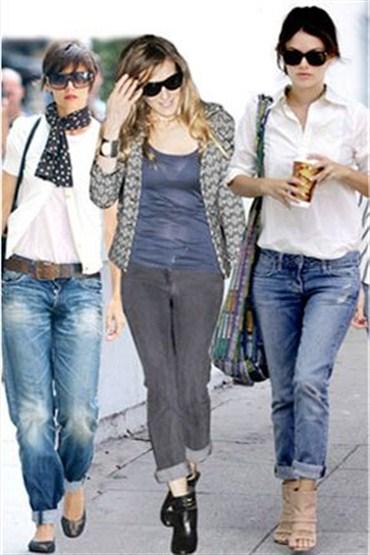 """Boyfriend Jeans"" isteyenlere Patti"